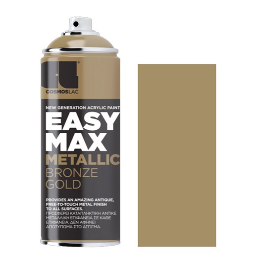 Spay Easy Max 400ml, Metallic Bronze Gold No 902