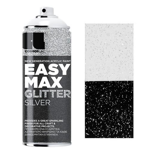 Spay Easy Max 400ml, Glitter Silver No 910