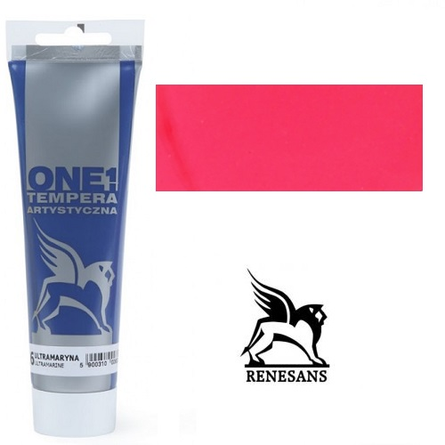 Tempera (τέμπερα) One Renesans 100ml - Carmine