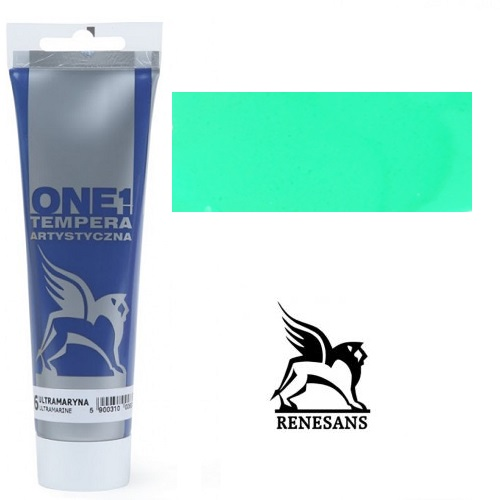 Tempera (τέμπερα) One Renesans 100ml - Green Bright