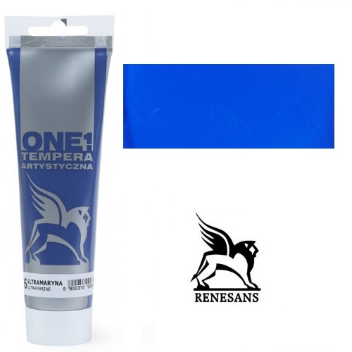 Tempera (τέμπερα) One Renesans 100ml - Cyan Blue