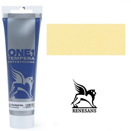 Tempera (τέμπερα) One Renesans 100ml - Yellow Ochre