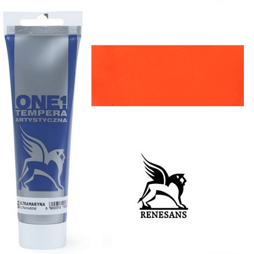 Tempera (τέμπερα) One Renesans 100ml - Vermilion
