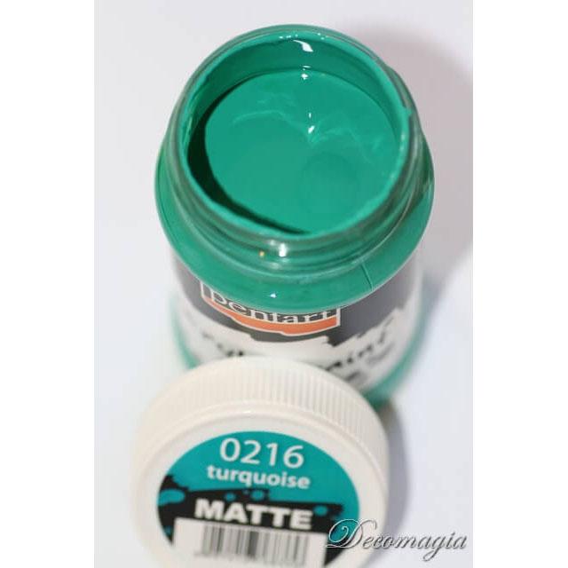 Χρώμα ακρυλικό Pentart 100ml, Turquoise