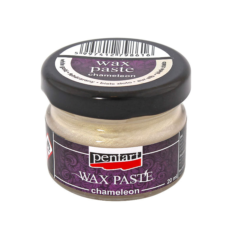 Πατίνα Wax Pentart White Gold Chameleon, 20ml
