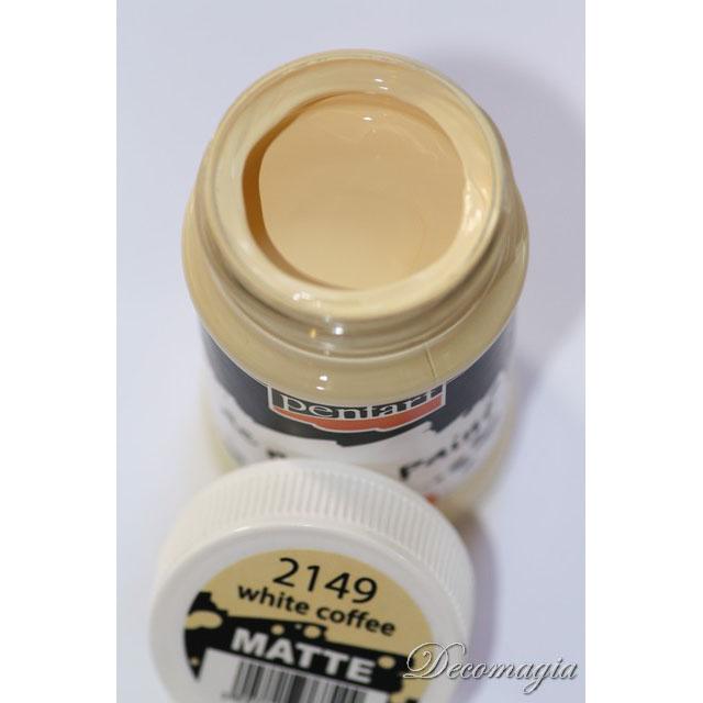 Χρώμα ακρυλικό 100ml Pentart, White coffee