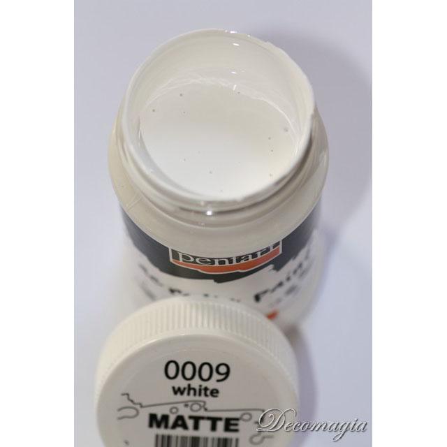 Χρώμα ακρυλικό 100ml Pentart, White