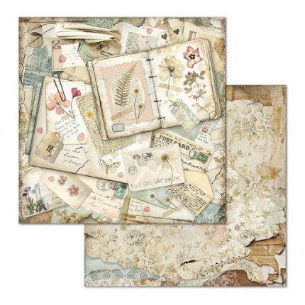 Χαρτιά scrapbooking 10τεμ, Imagine