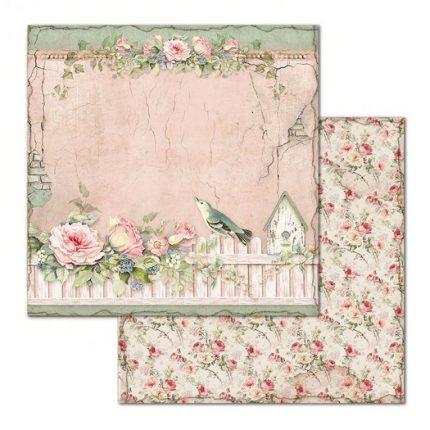 Χαρτιά scrapbooking 10τεμ, House of Roses