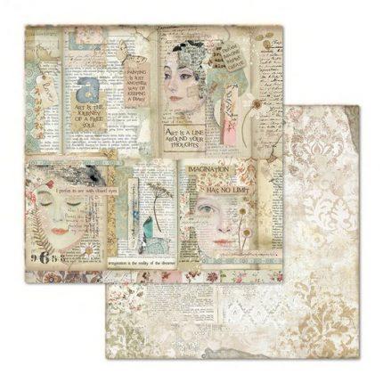 Χαρτιά scrapbooking 22τεμ Stamperia, Imagine