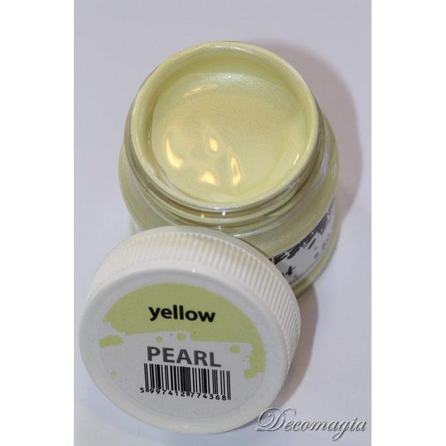 Χρώμα perle yellow 50ml