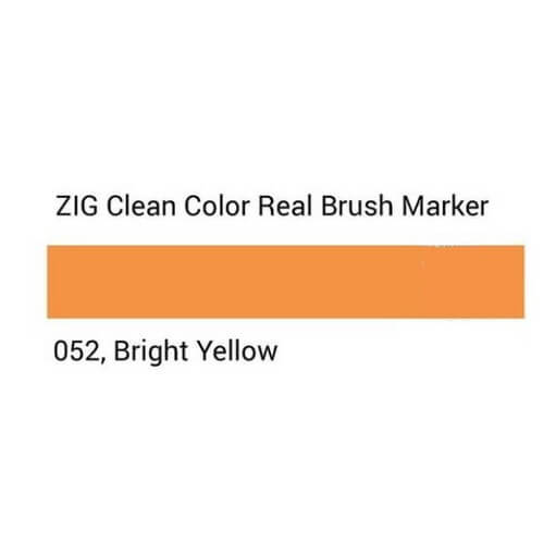 ZIG Clean Color Real Brush Bright Yellow