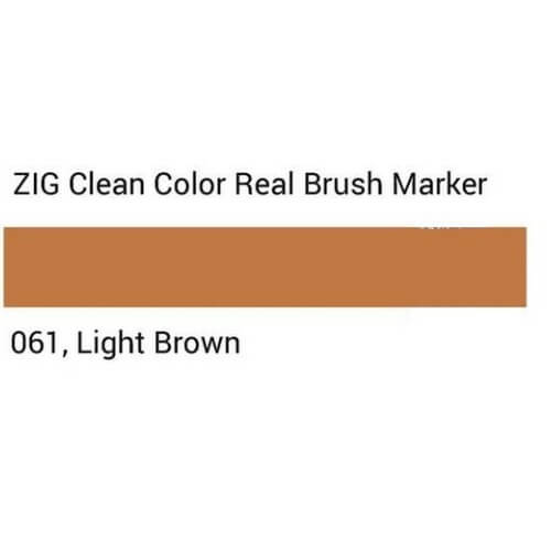 ZIG Clean Color Real Brush Light brown