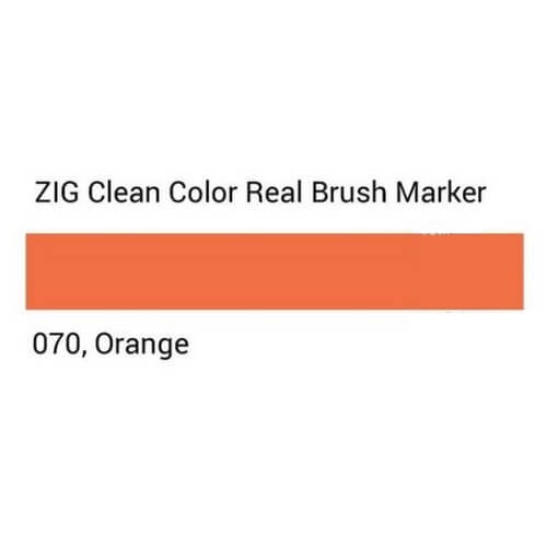 ZIG Clean Color Real Brush Orange