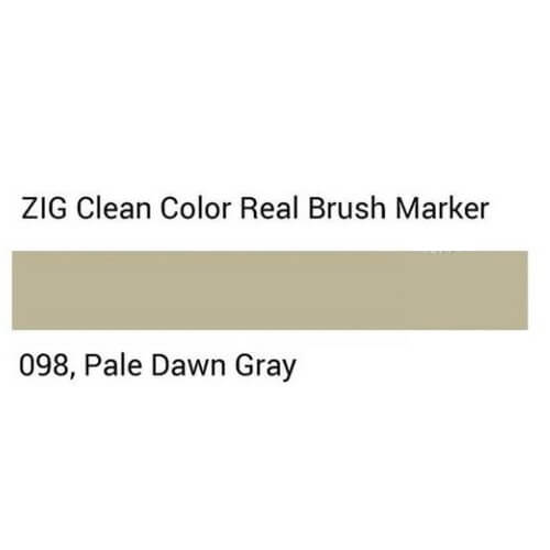 ZIG Clean Color Real Brush Pale dawn gray