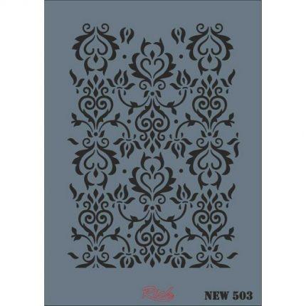 Stencil New Rich, 35x25cm, 503