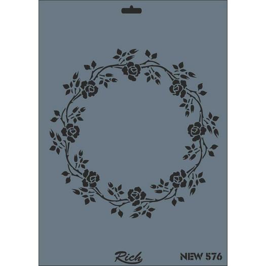 Stencil New Rich, 35x25cm, 576