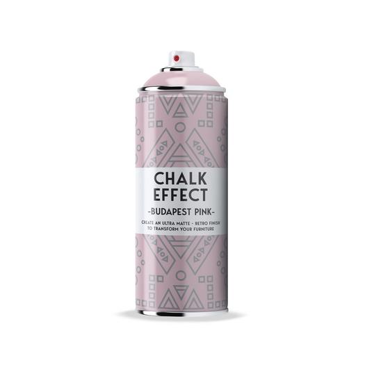 Σπρέι εφέ κιμωλίας Spray Chalk Effect Cosmos Lac 400ml, Budapest Pink N11