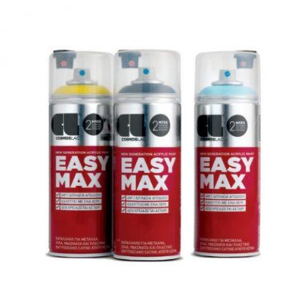 Χρώματα σε σπρέι Easy Max COSMOS LAC