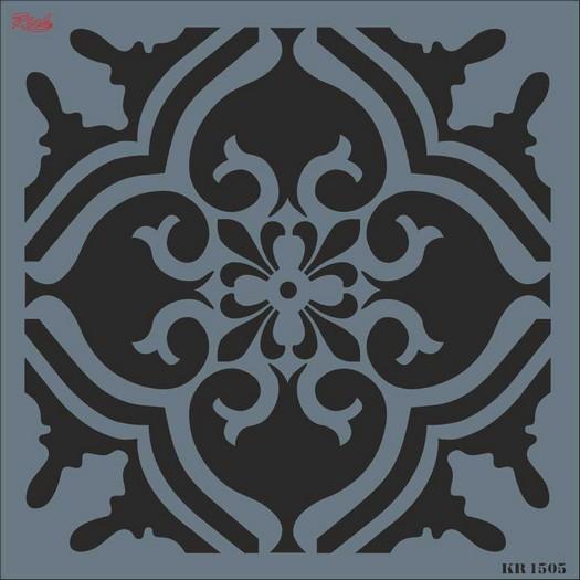 Stencil Tile Rich, 30x30cm 1505