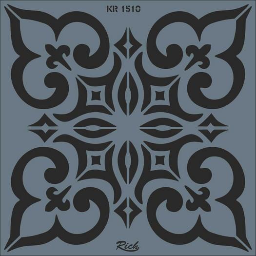 Stencil Tile Rich, 30x30cm 1510