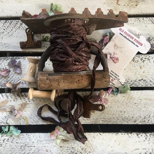 Κορδέλα old Vintage, Chocolate, 1,2m