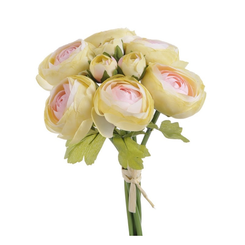 Μπουκέτο νεραγκούλες 25cm, yellow rose