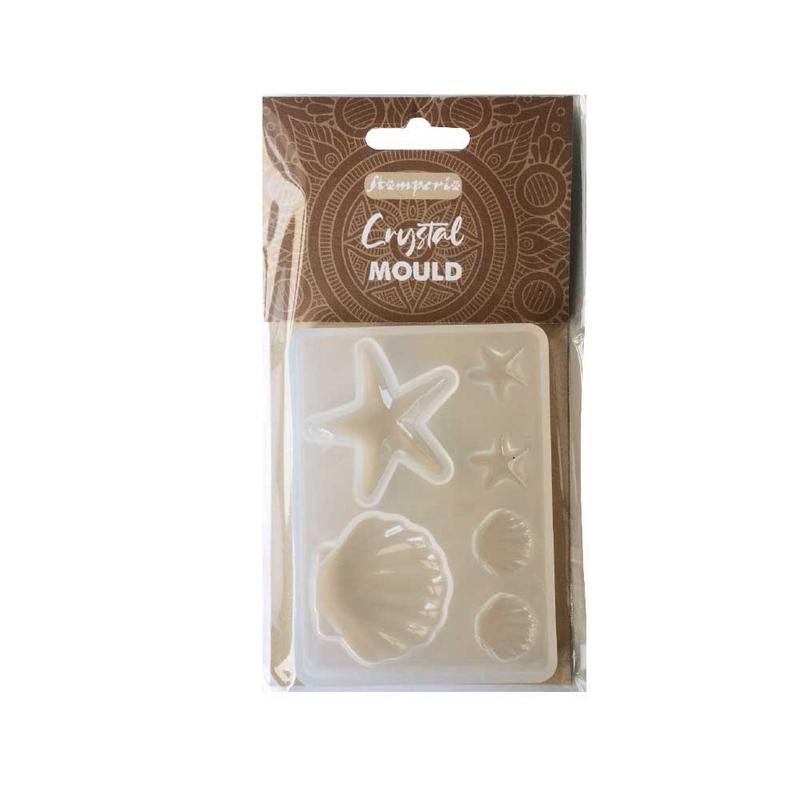 Καλούπι σιλικόνης Stamperia 6x2cm, Shells