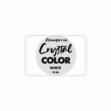 Pigment Crystal color 10 ml. Stamperia White