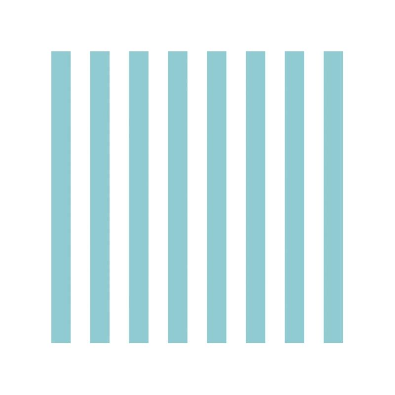 Χαρτοπετσέτα για decoupage, 1τεμ, Stripes Blue