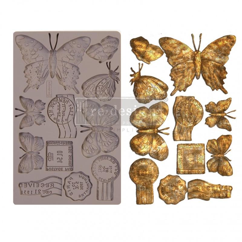 Καλούπι Redesign Prima Marketing 13x20cm, Butterfly in Flight