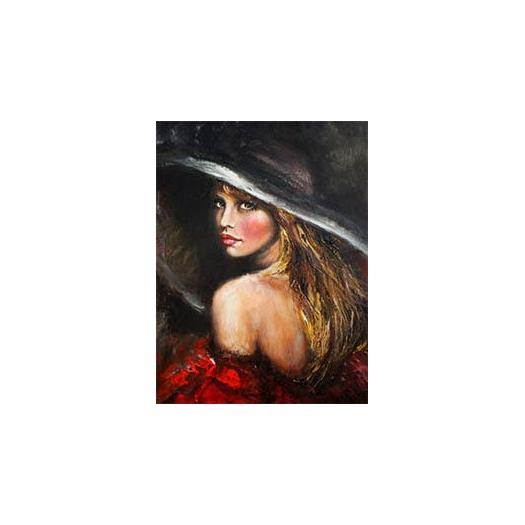 Ριζόχαρτο για decoupage 30x40cm, Umbrella Woman