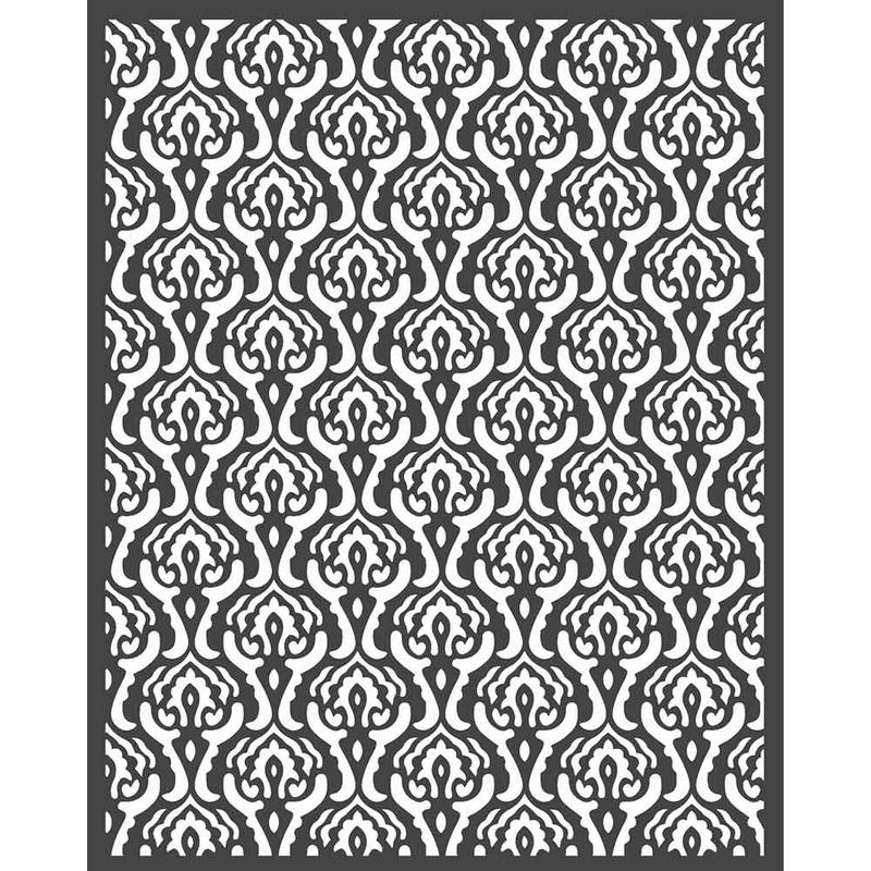 Thick Stencil 20x25cm Stamperia, Texture 1