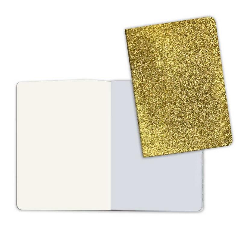 Σημειωματάριο A5 με χρυσό εξώφυλλο Stone paper (κενές σελίδες)