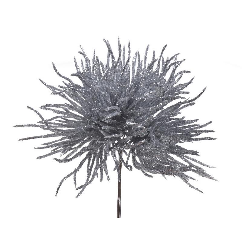 Θάμνος άγριος, 12cm, silver