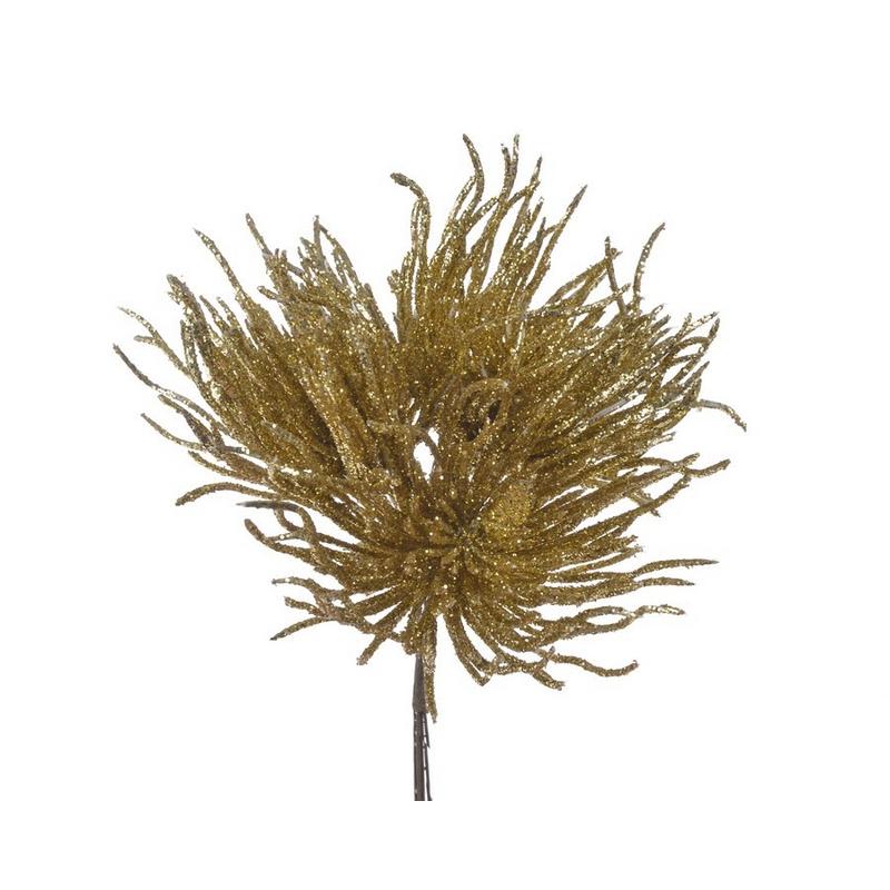 Θάμνος άγριος, 12cm, gold