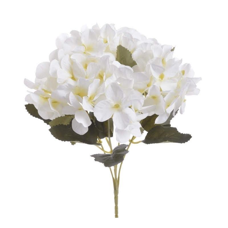 Ορτανσία μπουκέτο, 29cm, white