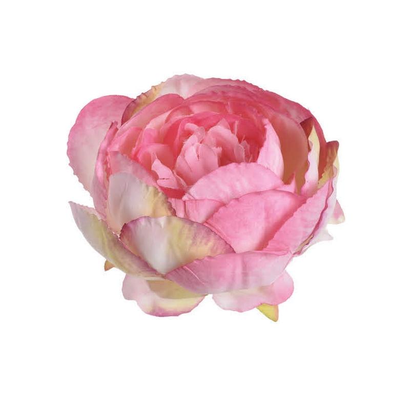 Κεφάλι παιώνιας, 9cm pink