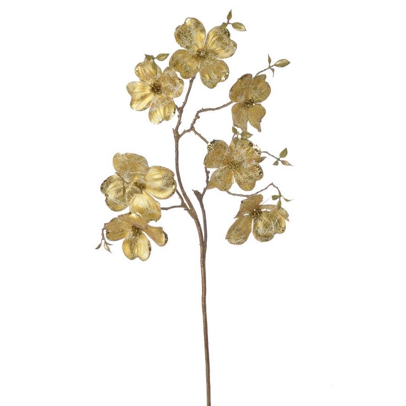 Κλαδί μανόλια, 95cm, gold