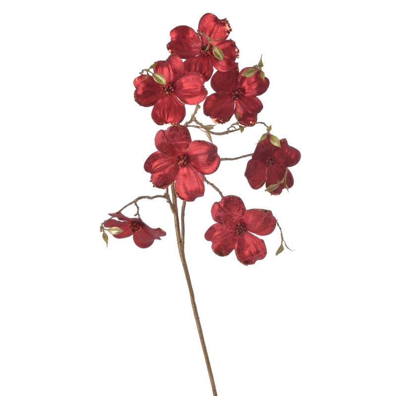 Κλαδί μανόλια, 95cm, red