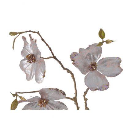 Κλαδί μανόλια, 95cm, silver rose