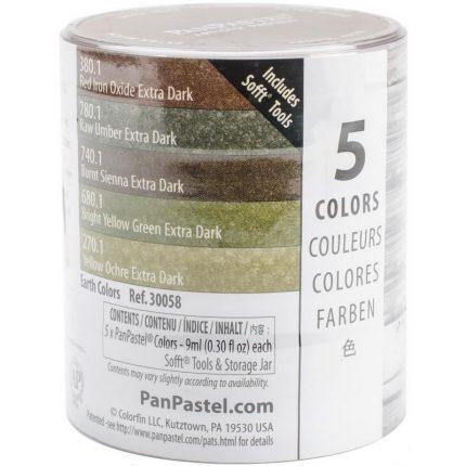 Χρώμα Panpastel Raw Umber Extra Dark