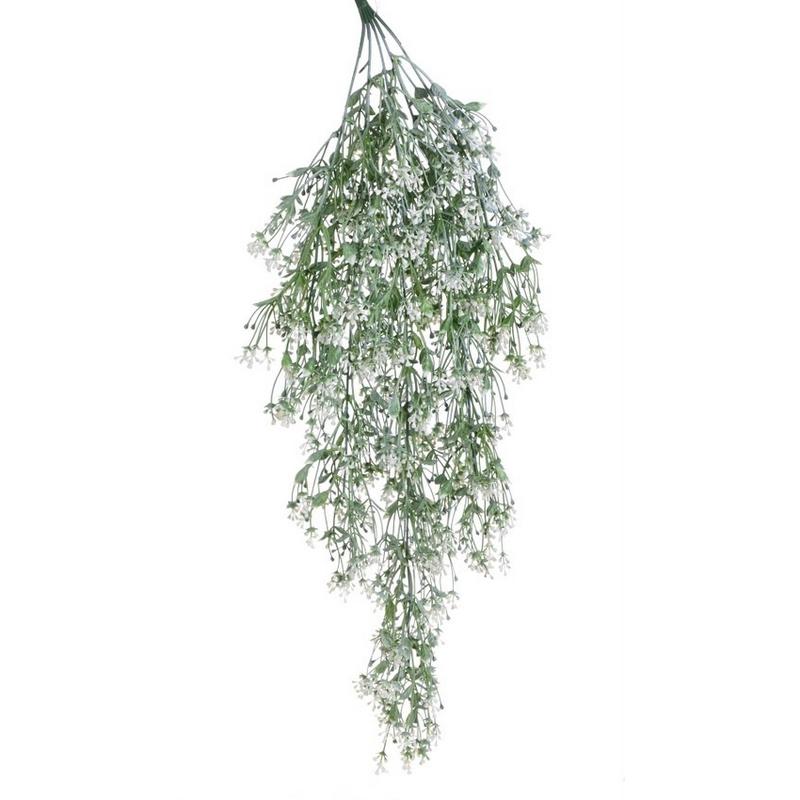 Κλαδί με λευκά ανθάκια, 78cm