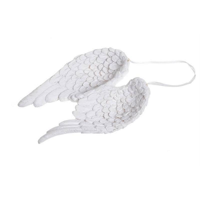 Φτερά αγγέλου λευκά, 12,5cm
