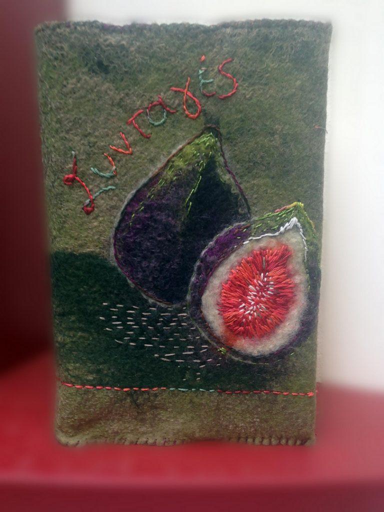 Εξώφυλλο από φελτ - Σεμινάρια χειροτεχνίας felting