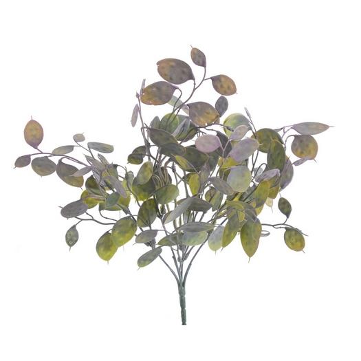 Κλαδί με πλατύφυλλα, green-red, 40cm