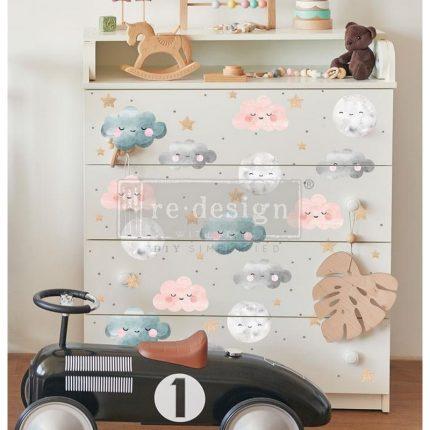 Επιπλο με Χαρτί Decor Transfer Prima Re-Design, Sweet Lullaby , 89x61cm
