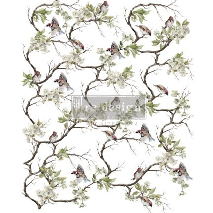 Χαρτί Decor Transfer Prima Re-Design, Blossom Flight, 86x63,5cm