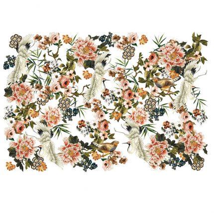 Χαρτί Decor Transfer Prima Re-Design, Elegance & Flowers, 121x89cm