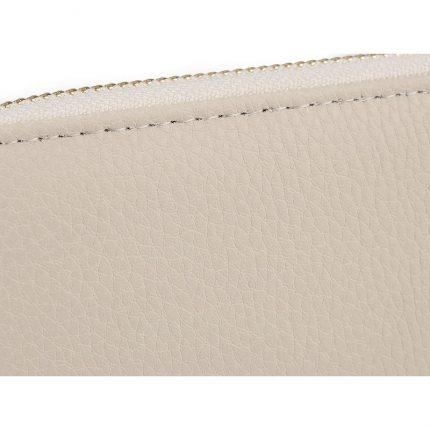 Πορτοφόλι γυναικείο, creamy light, 10x19cm